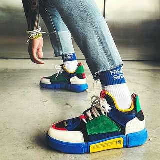 Preorder Color Block Retro Shoes