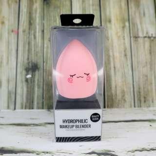 💀 Miniso Makeup Blender Beauty Sponge Queen Pink Egg Teardrop