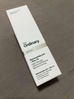 包郵 The Ordinary Niacinamide 10% + Zinc 1%