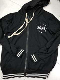 Vans black cotton jacket