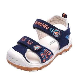 🈹💥🈹💥 兒童涼鞋男童 夏新款女童涼鞋包頭軟底防滑寶寶涼鞋機能小童鞋 shoe