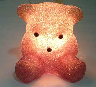Crystal like purplish bear