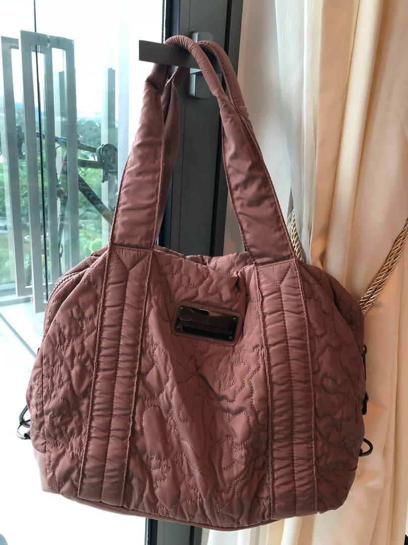 a86613d50da4 Adidas by Stella McCartney Gym Bag Sports Bag