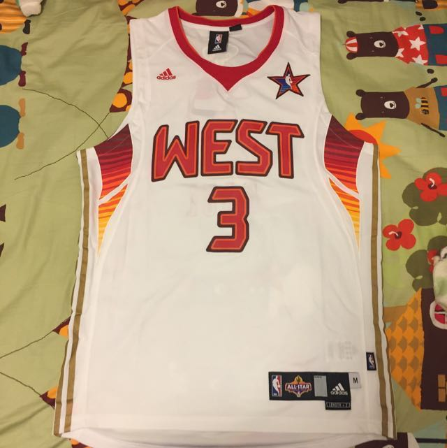 buy online 0360c d88a5 Adidas NBA All Star West Chris Paul Jersey M Size