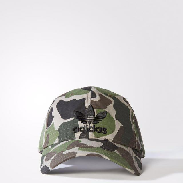 5431126b5 Adidas Originals Camo Trefoil Classic Cap, Men's Fashion ...