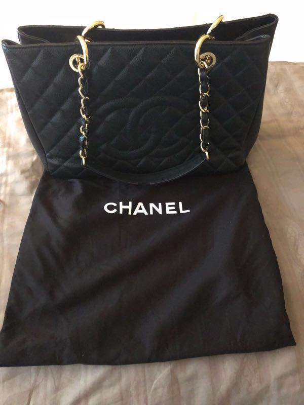 03084da3c6d8 Authentic Chanel GST Bag in GHW, Luxury, Bags & Wallets, Handbags on ...