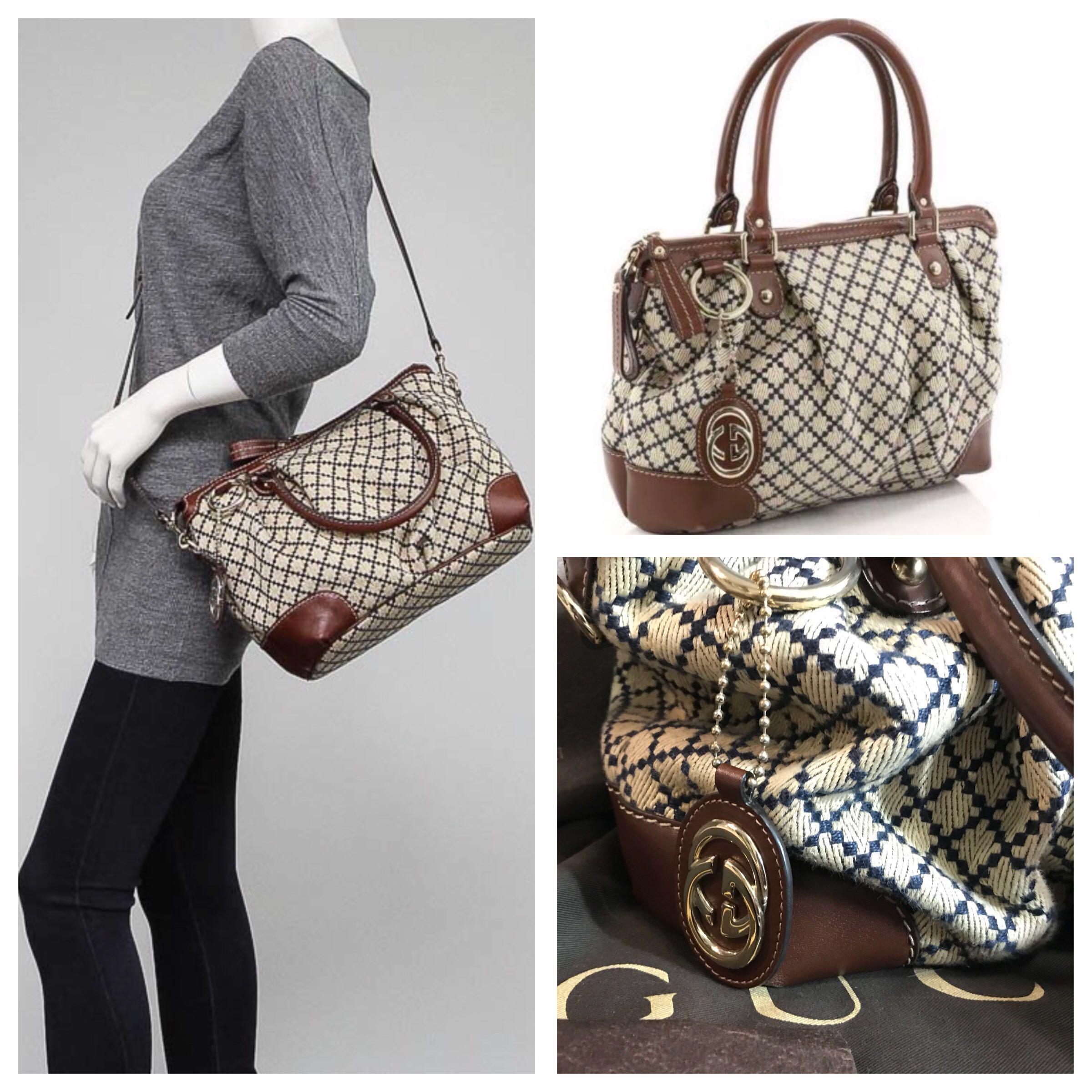 e99b236e846 Authentic Gucci two way top handle women's handbag, Women's Fashion ...