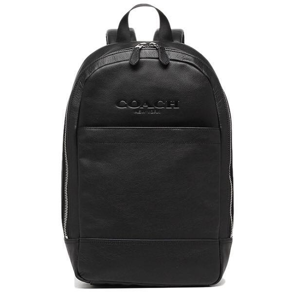 b86683eb5237 Authentic Men Coach Charles Slim Backpack in Sport Calf Leather ...