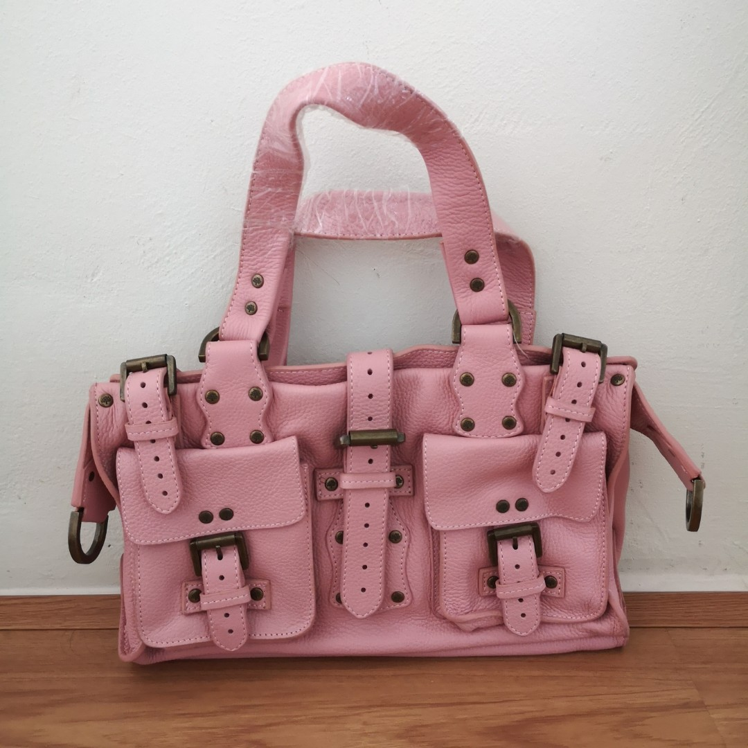 888f07023e Authentic Vintage Mulberry Roxanne Pink Leather Tote Bag