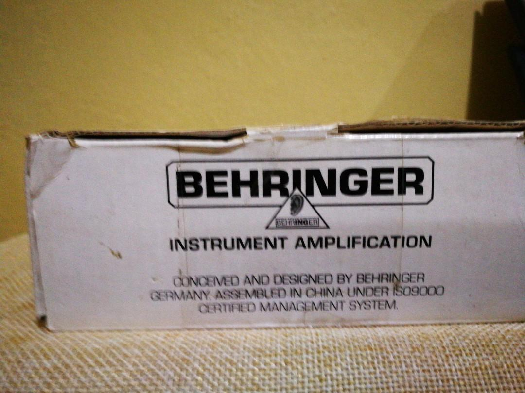 Behringer Ultrabass FS112B 2 channel Footswitch