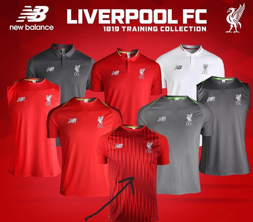 4002cb42359 BNWT Liverpool fc 2018 19 season training T shirt
