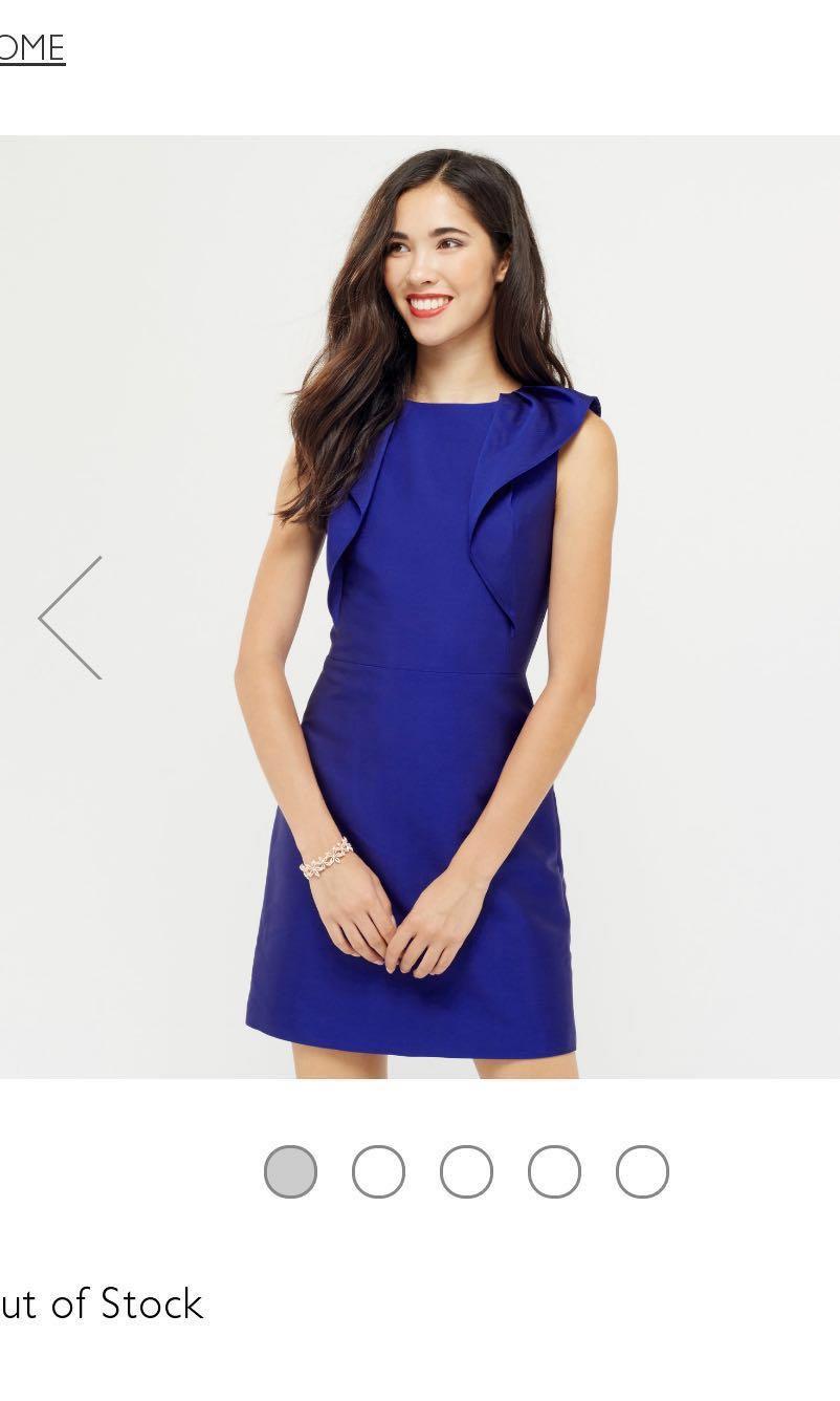 a8217a2e5c23 BNWT Oasis ruffled shift dress, Women's Fashion, Clothes, Dresses ...
