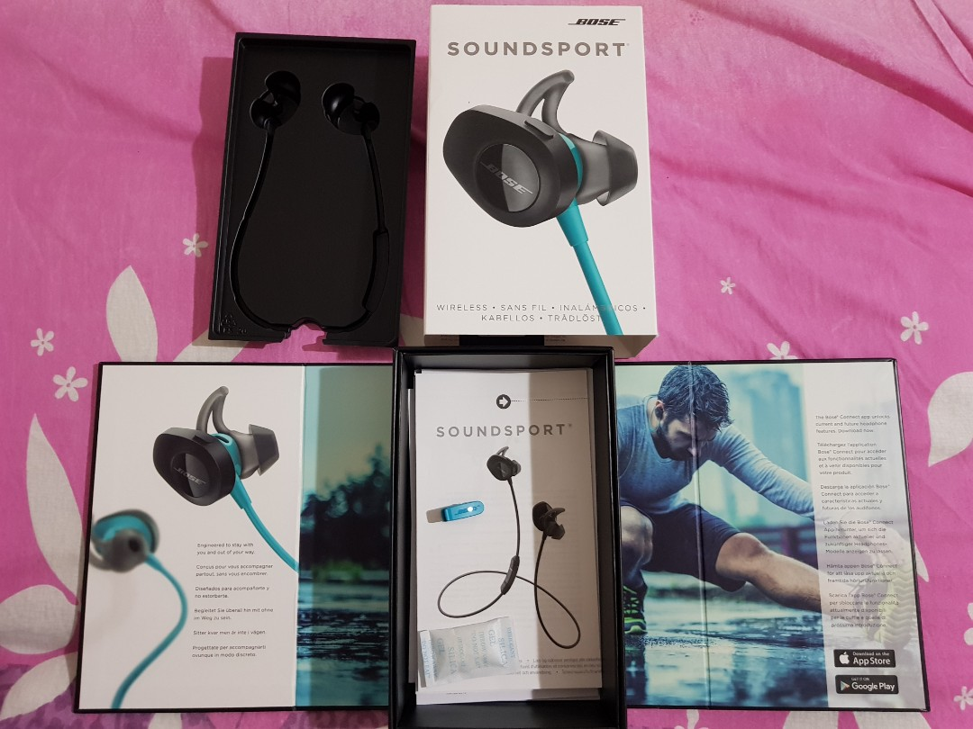 873df96f7b2 BOSE SOUNDSPORT BOX with manuals and Clip, Electronics, Audio on ...