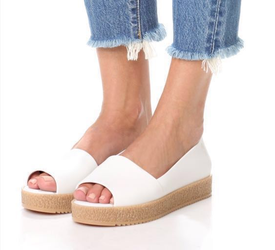 3b576d3d914b Brand New Melissa Puzzle Peep Toe Flat