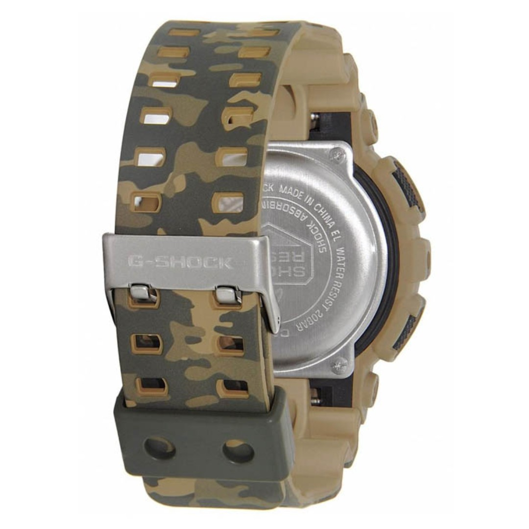 Casio G Shock Camouflage Series Green Army Digital Mens Watch Gd Gst 200cp 9a Share This Listing