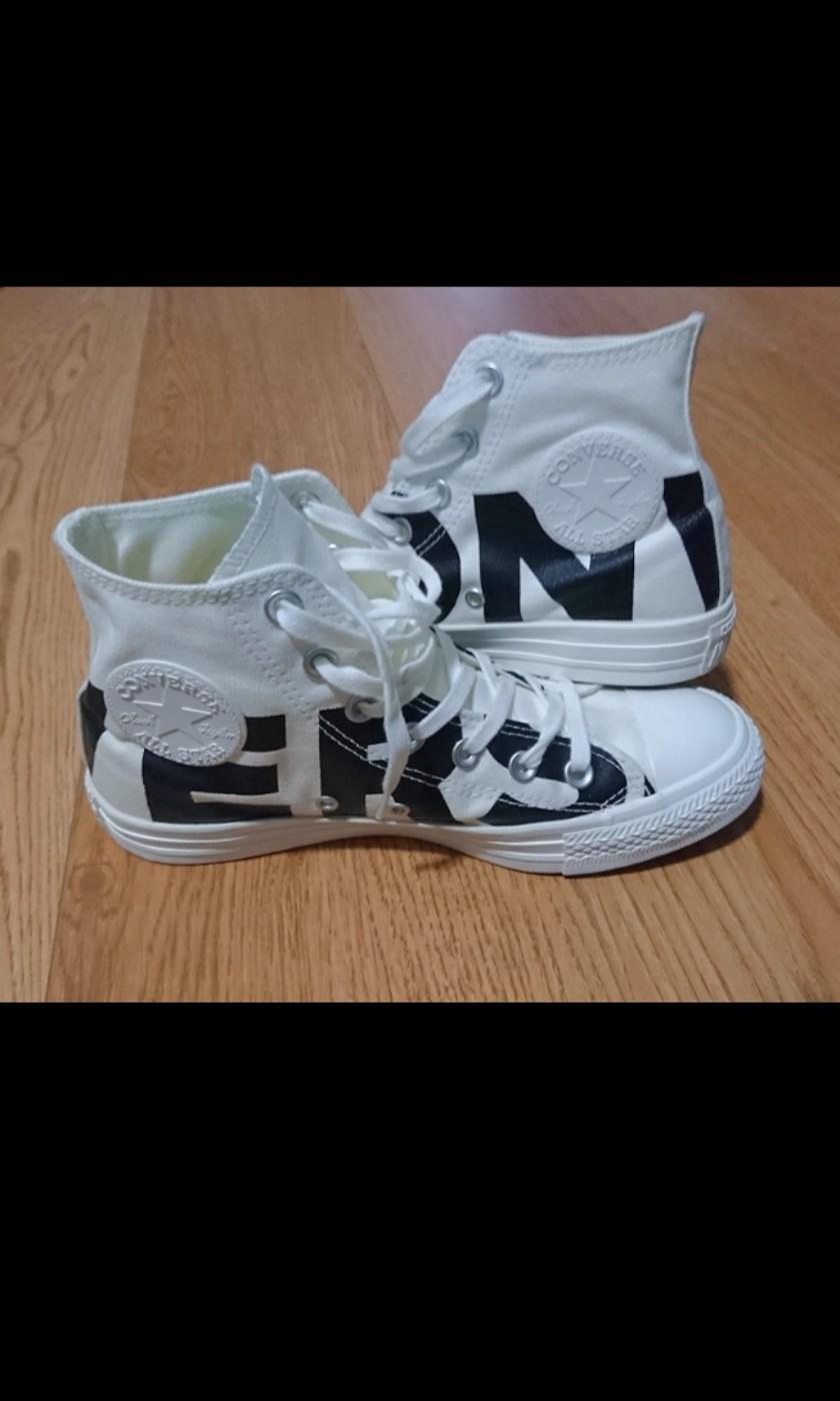 FINAL STOCK) CONVERSE Chuck Taylor All Star Hi Sneakers Unisex High ... 01cee8e28