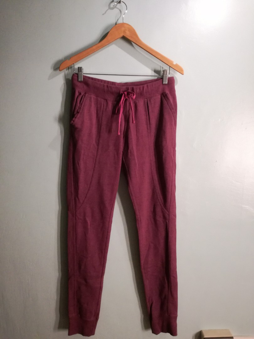 f05cdf421bf9 Converse Jogging Pants (Purple)