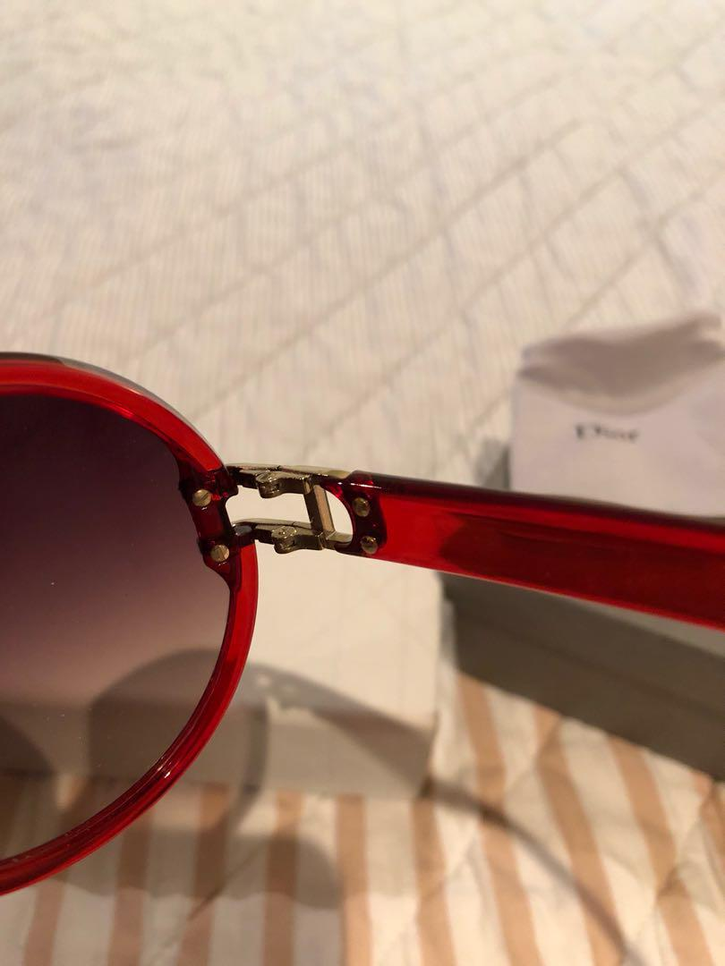 DIOR sunglasses vintage RED - As New
