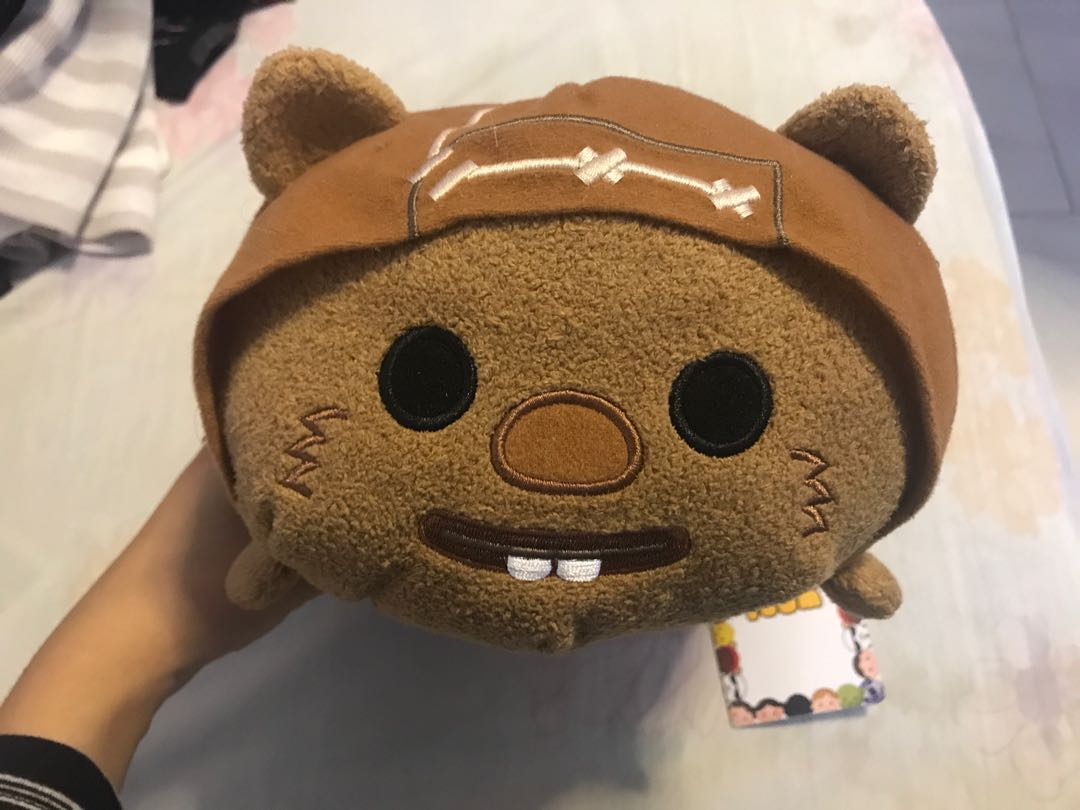 Disney Store Mini 3 5 Quot Tsum Tsum Wicket The Ewok Star