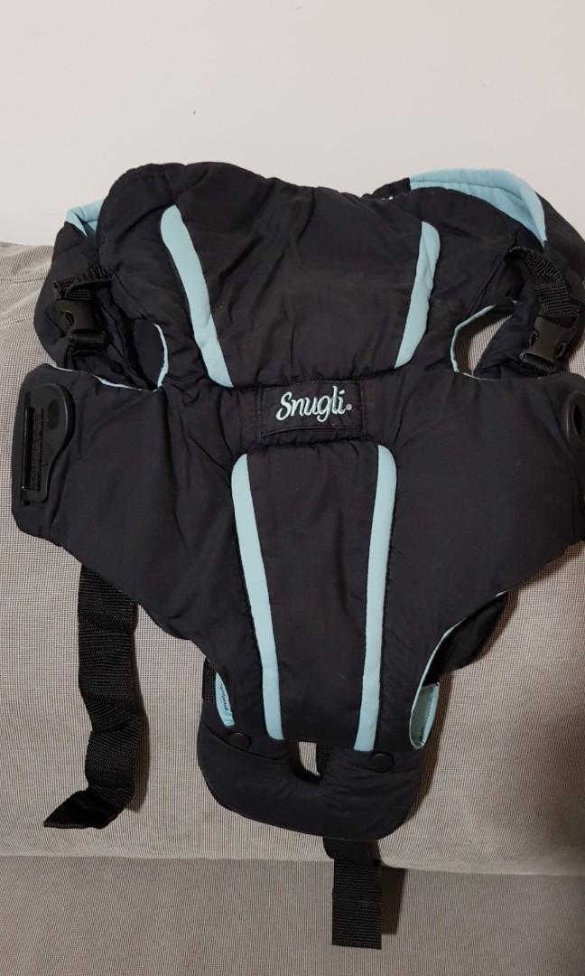 09e39873d49 Evenflo Snugli Hug Front   Back Infant Baby Carrier