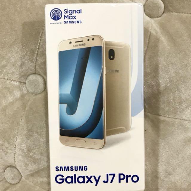 For Sale Samsung Galaxy J7 PRO Memory 32GB Produksi Tahun 2017 Baru