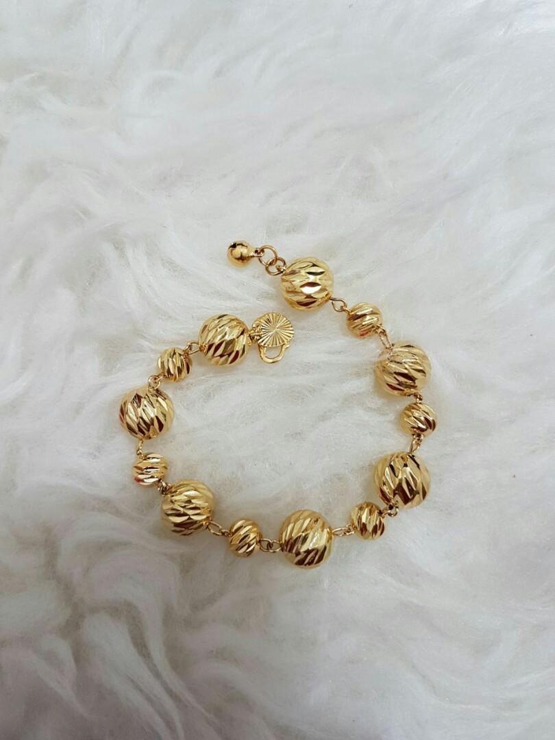 Gelang Bebola Kecil Womens Fashion Jewellery On Carousell Gelsng Rantai Love Silver Korea