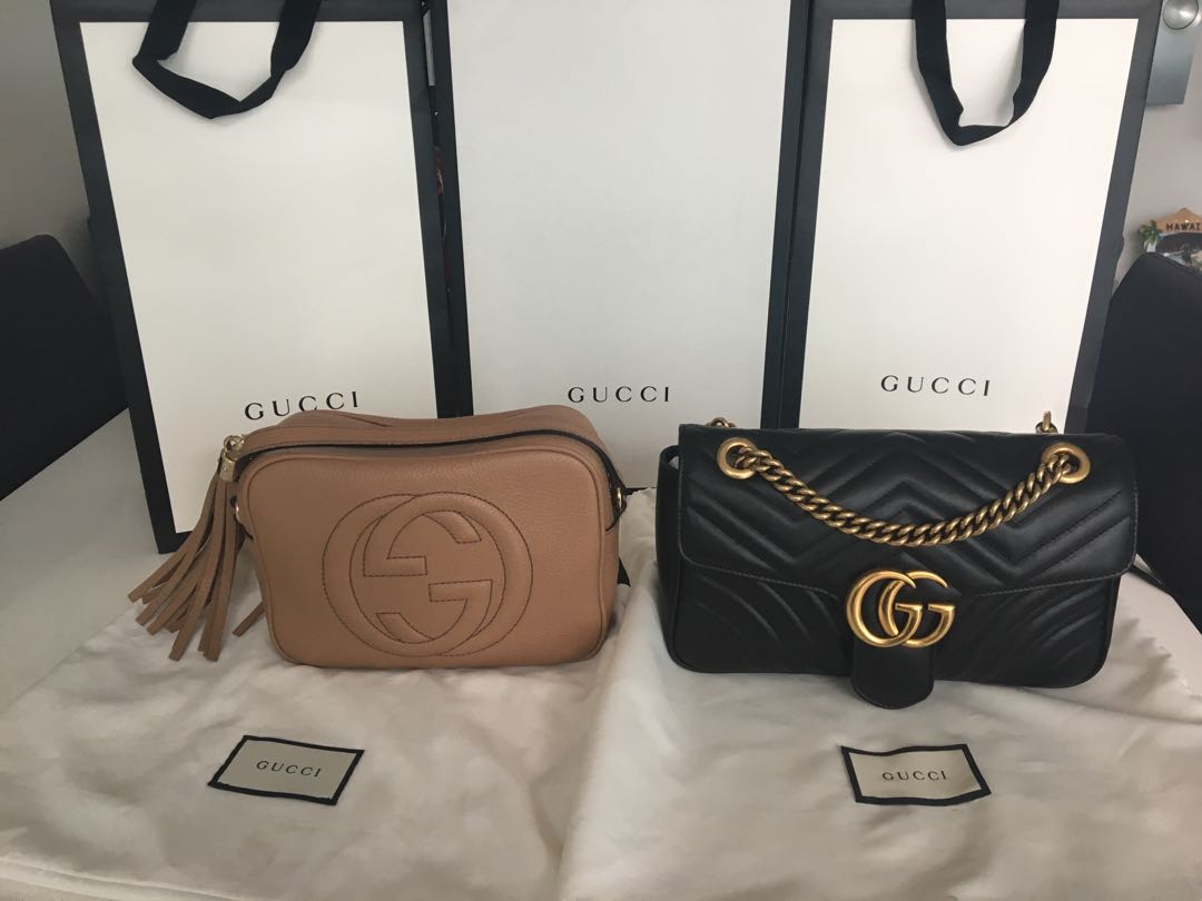 a079f7ebb7ad GUCCI GG Marmont small matelassé shoulder bag, Women's Fashion, Bags &  Wallets on Carousell