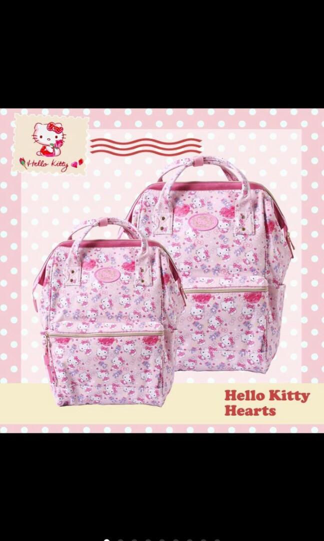 baaecdf67e79 Hello kitty sanrio diaper bag backpack mummy bag
