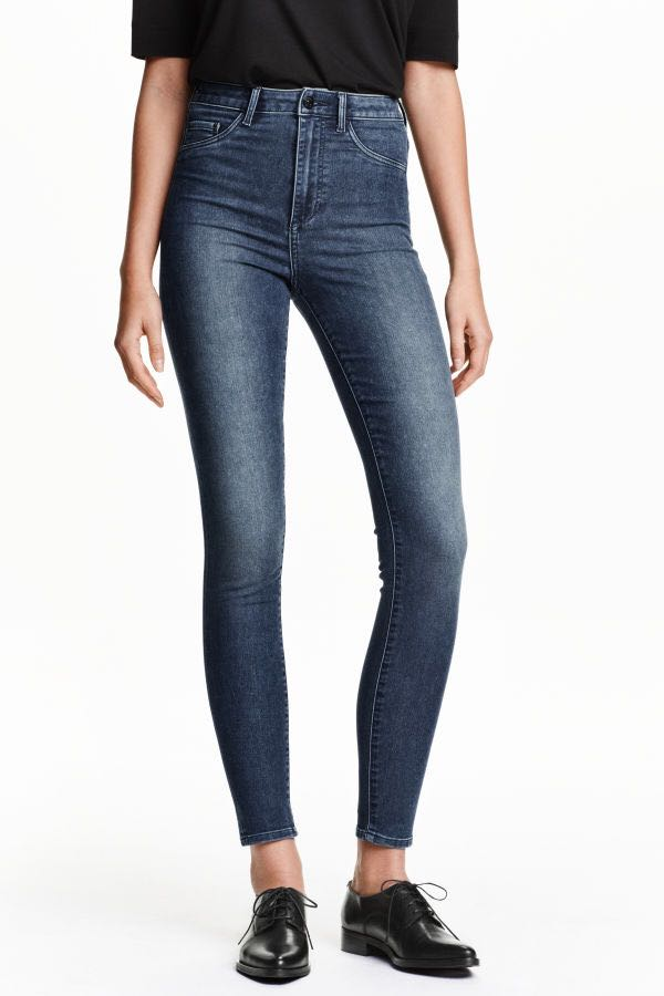 60a839b15efa7 H&M Super skinny high waist jeggings jeans, Women's Fashion, Clothes ...