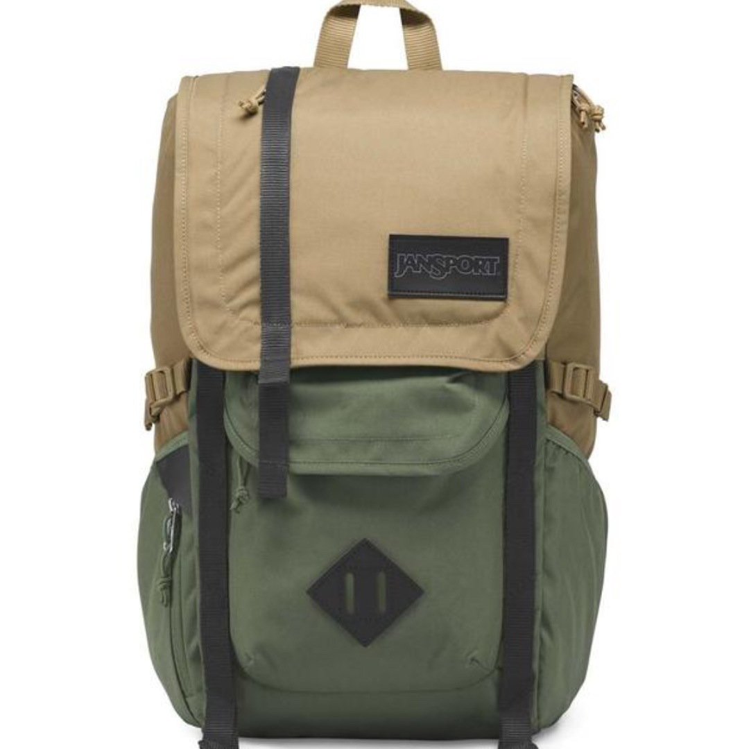 90c9ea35049f CLEARANCE  Jansport Hatchet backpack (FIELD TAN MUTED GREEN)