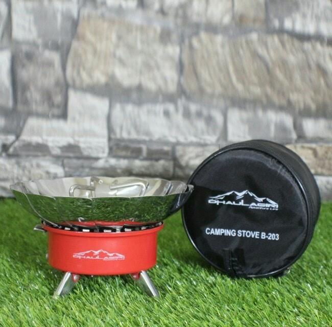 Kompor Dhaulagiri Stove B203 kompor kembang kompor portable kompor windproof, Sports, Other Sports Equipment on Carousell
