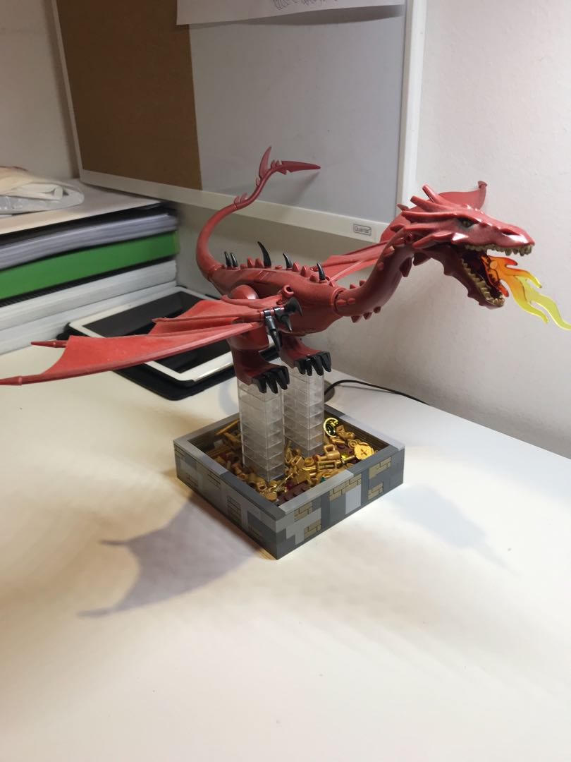 Lego Compatible Lord Of The Rings The Hobbit Smaug Dragon Horde Of
