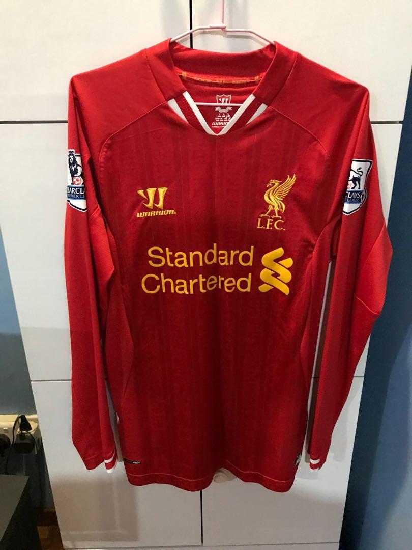 designer fashion faa0f 9afcc Liverpool Luis Suarez Home Jersey, Sports, Sports Apparel on ...