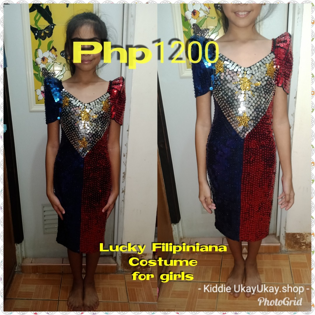 Lucky Filipiniana Gown, Auto Accessories & Others on Carousell