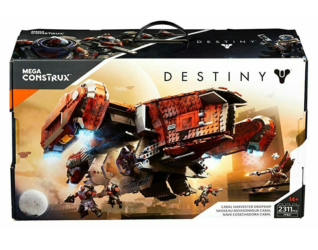 50dd2f4a9ad Mega Construx Destiny Cabal Harvester Dropship Signature Series ...