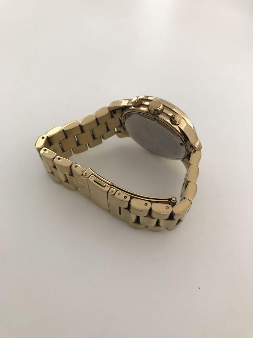 Michael Kors gold women's watch