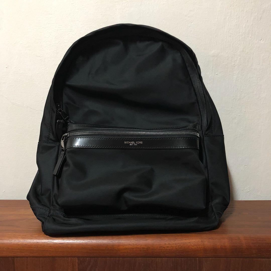 e2f202d9fdd5 Michael Kors Kent Nylon Backpack, Men's Fashion, Bags & Wallets, Backpacks  on Carousell