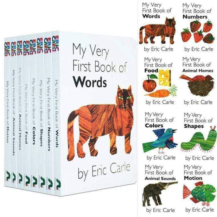 My Very First Library - Eric Carl 8books, Books & Stationery ...