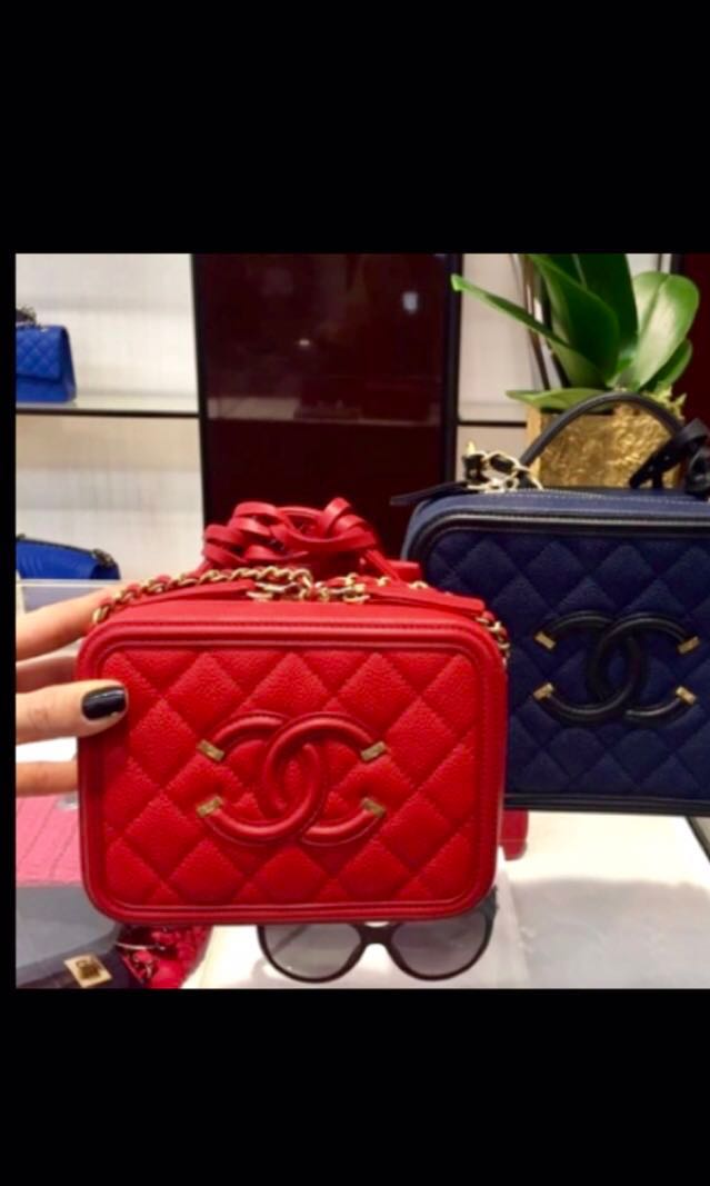b7405d914ed3 NEW  Chanel Vanity Case (small)
