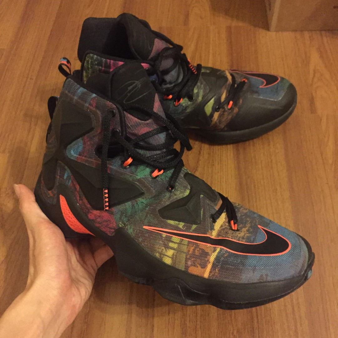 55fd5394d1c2 Nike LEBRON 13 AKRONITE PHILOSOPHY US10.5