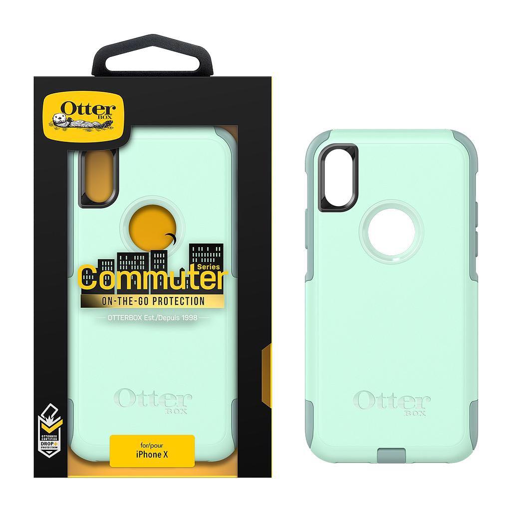 brand new bd06c c45a4 Otterbox Commuter Series Oceanway Aqua Iphone X case