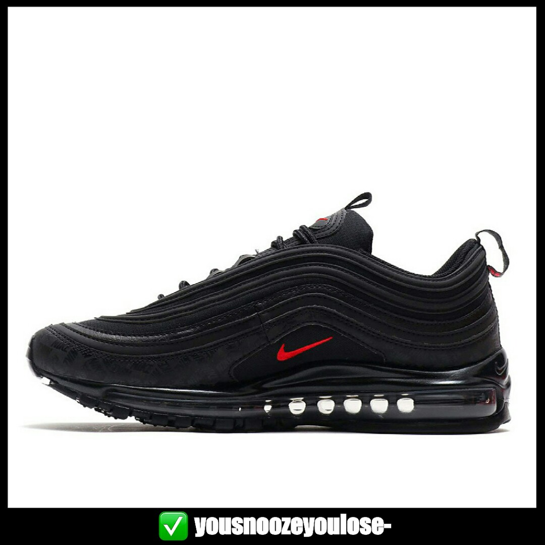 lowest price 6255e c42b8 113c4 a22aa  ireland preorder nike air max 97 triple black reflective 3m  logo bulletin board preorders on carousell