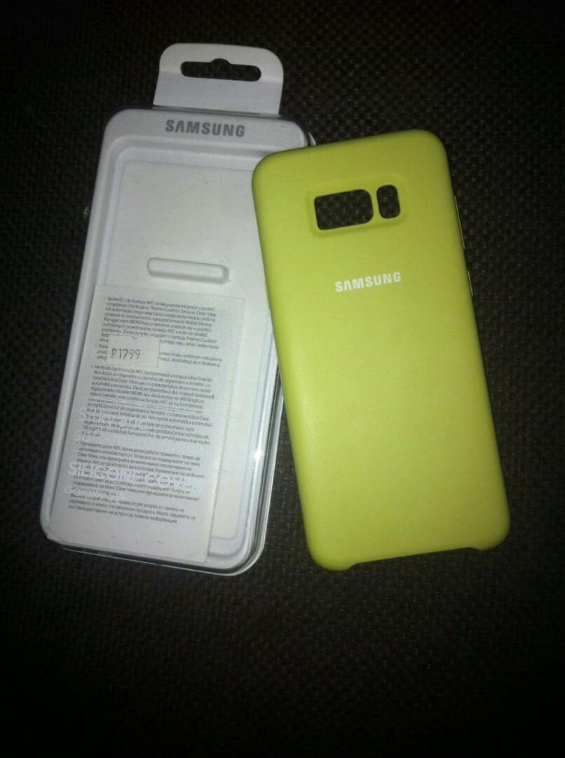 Samsung Original S8plus Silicone Cover Electronics Mobile Tablet Uag Monarch Case For Galaxy S8 Plus Graphite Photo