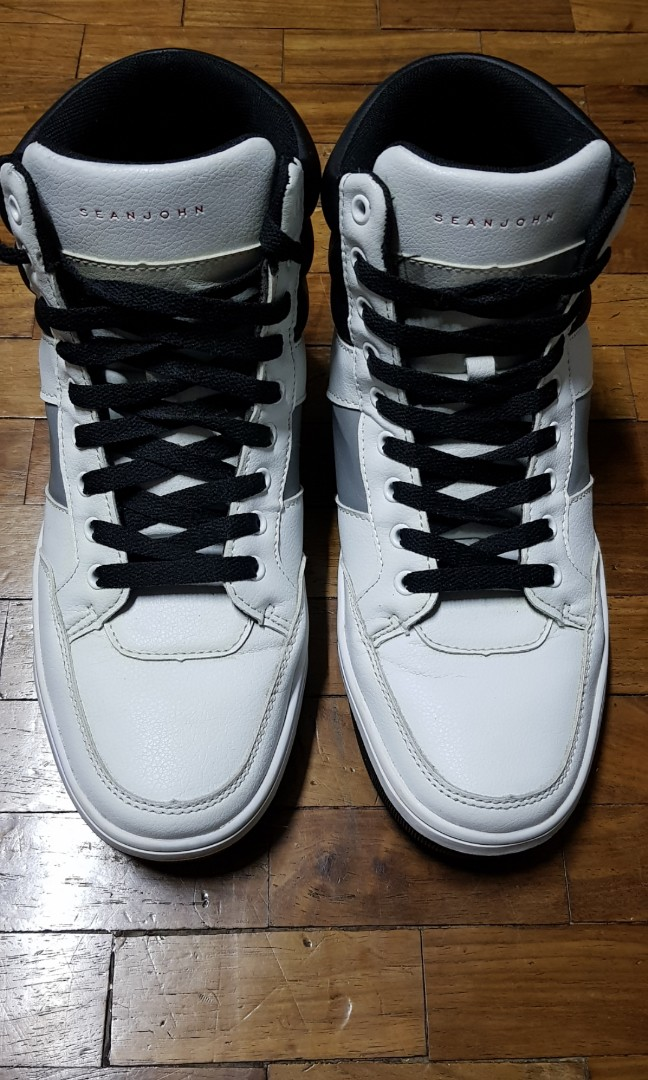 sean john high top sneakers