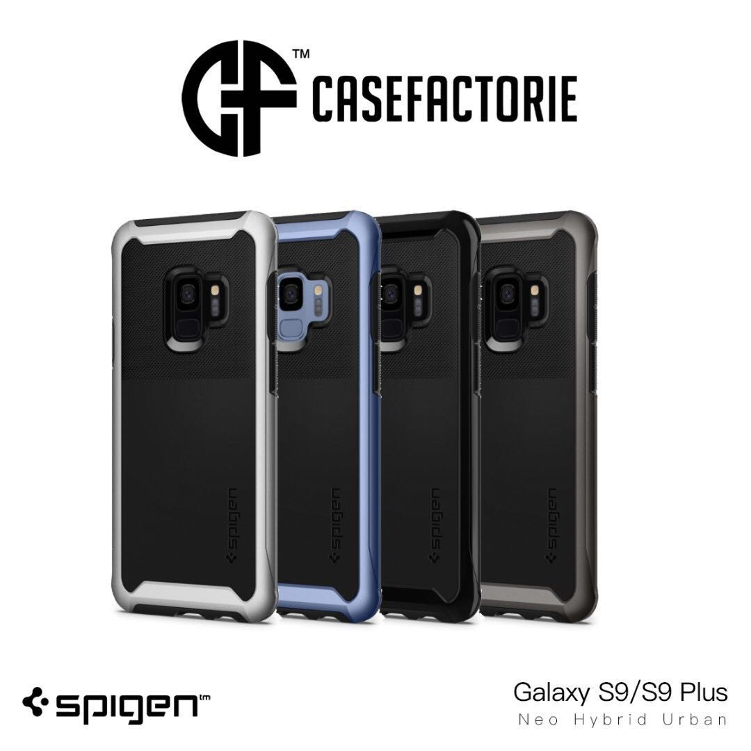 detailed pictures 28703 6d3df Spigen Neo Hybrid Urban Case for Samsung Galaxy S9/S9 Plus