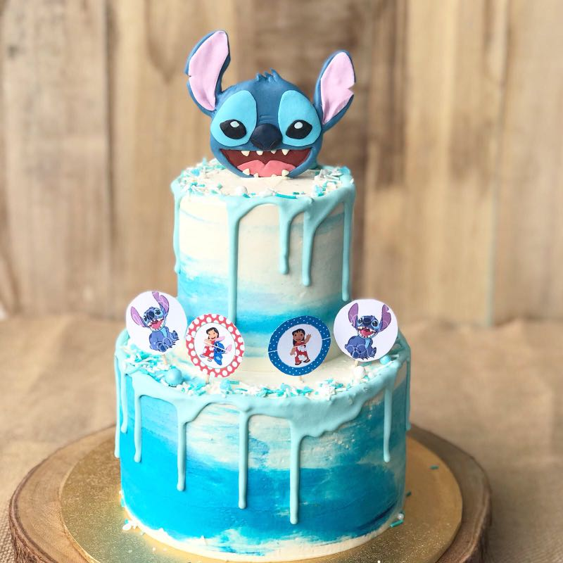 Stitch Cake Kids Birthday Cartoon FREE DELIVERY Food