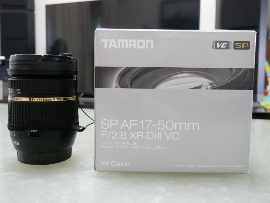 Tamron Sp 17 50mm F28 Xr Di Ii Ld Vc B005for Canon For Af F 28 Aspherical If Carousell