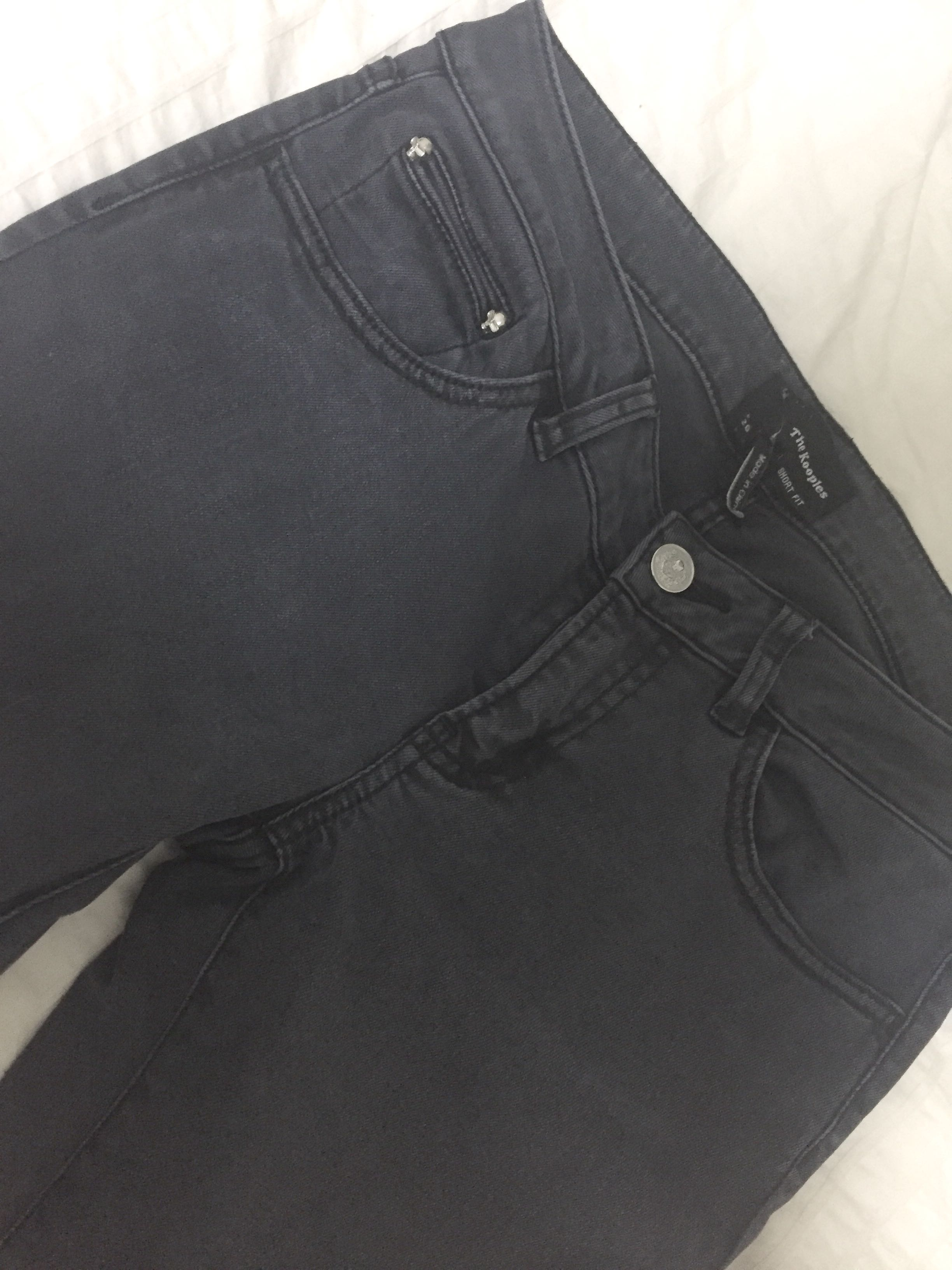 b32db3bf33 The Kooples short fit black jeans size 26, Women's Fashion, Clothes ...