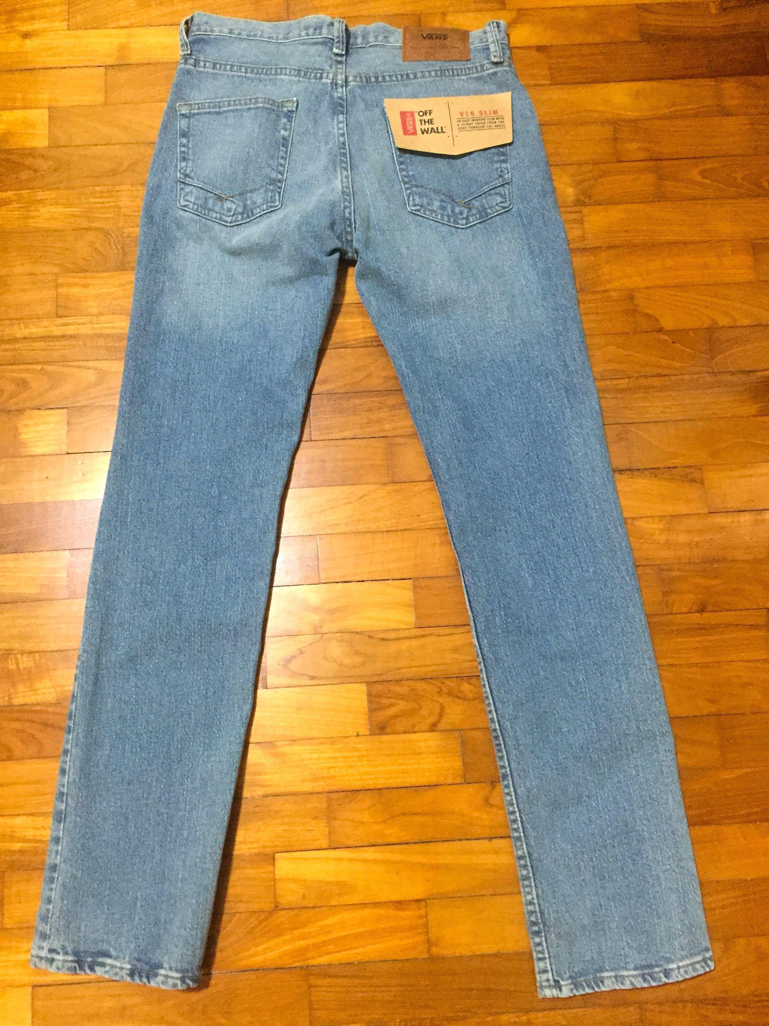 203ef003afe159 VANS V16 Slim Stone-washed Jeans
