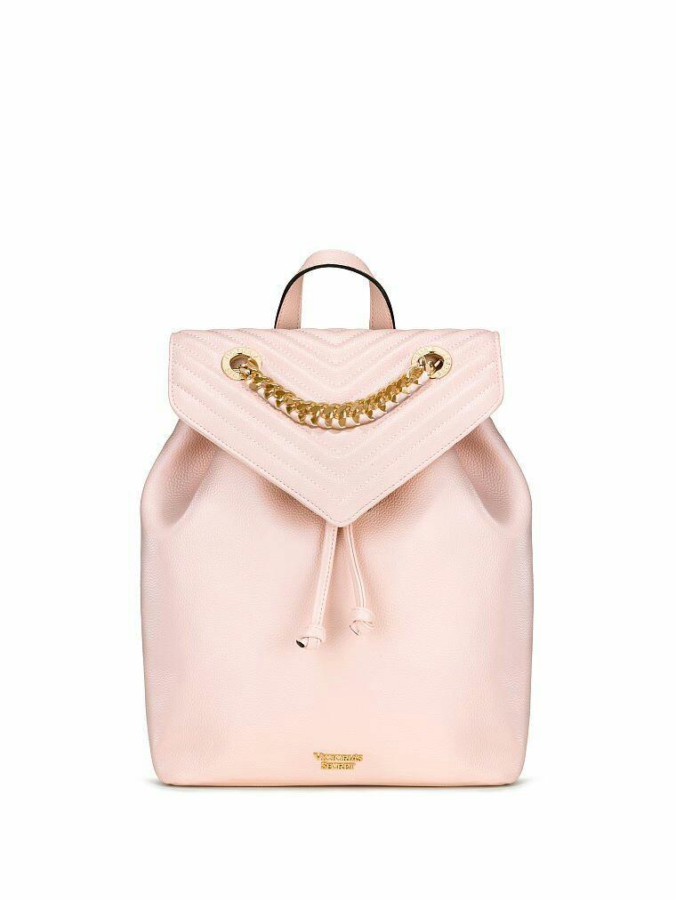 df0185dcded59 Victoria Secret Pebbled V-Quilt Angel Backpack